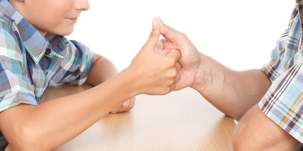 Thumb Wrestling in Speech Therapy [Free Download]
