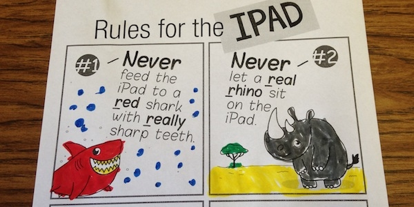 Keeping Your iPad Clean and Safe in Speech Therapy [Free Download]
