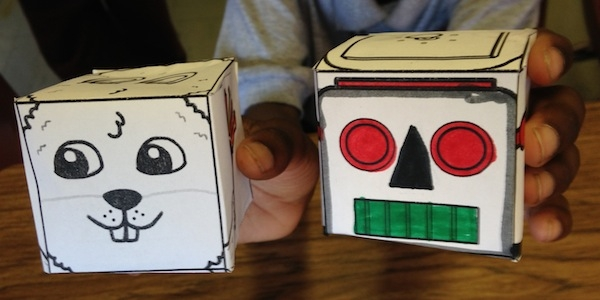 Making Paper Speech Cubes in Speech Therapy [Free Download]