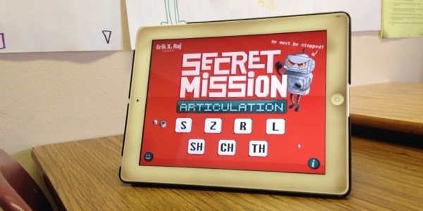 Saving the World in Speech Therapy with Secret Mission Articulation