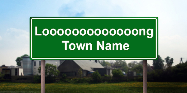 Talking About Really Long Town Names in Speech Therapy Is Really Fun
