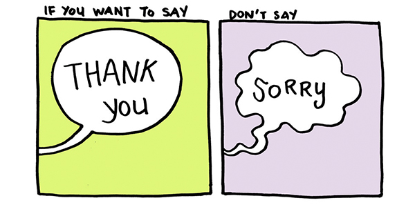 Thoughts About Saying Sorry and Thank You in Speech Therapy