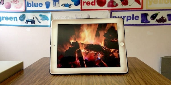 Having a Fireplace in Speech Therapy Is a Red Hot Good Idea