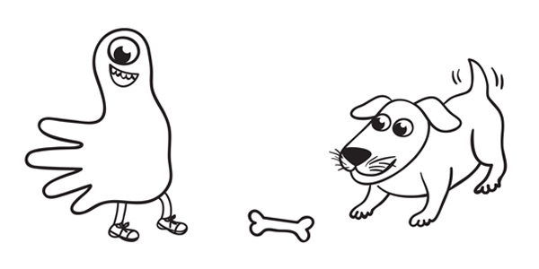 Five Thumb Monsters and a Dog in Speech Therapy [Free Download]