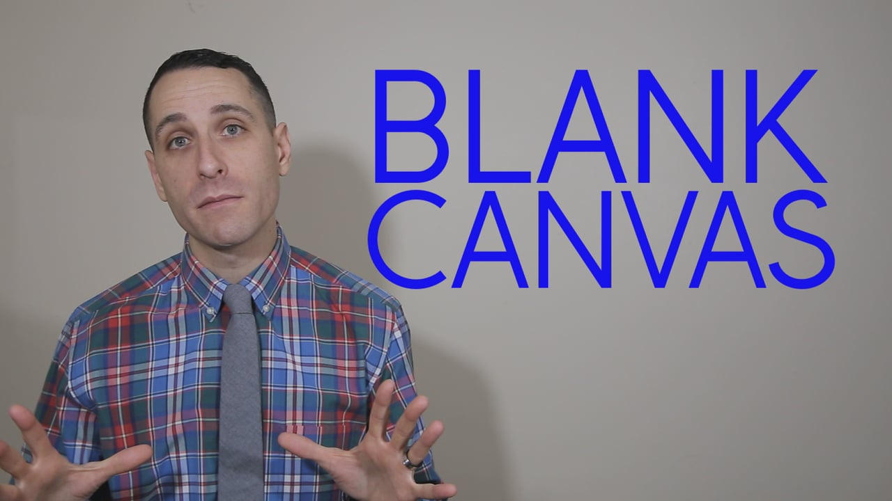 The Connection Between a Blank Canvas and a Child Who Receives Speech-Language Therapy