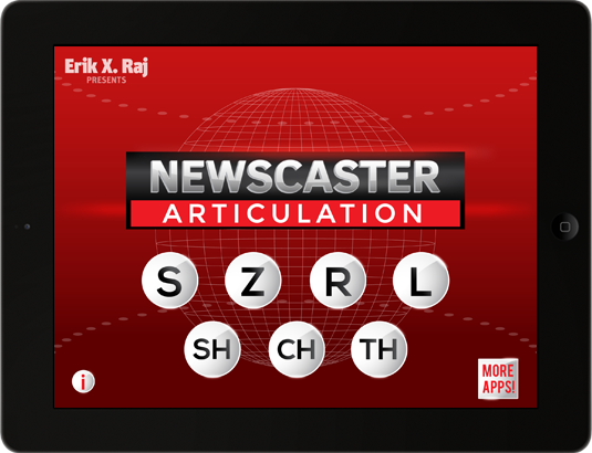 Newscaster Articulation on iPad