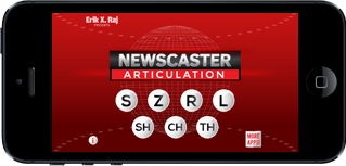 Newscaster Articulation on iPhone