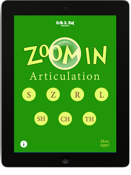 Zoom In Articulation on iPad