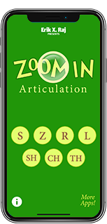 Zoom In Articulation on iPhone